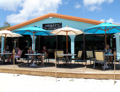 Smokey's at the Cove in Anguilla